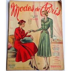 Revue Modes de Paris n° 147, 7 octobre 1949