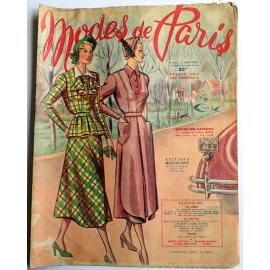 Revue Modes de Paris n° 152, 11 novembre 1949