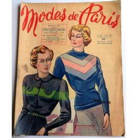Revue Modes de Paris n° 156, 9 décembre 1949