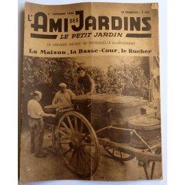 Revue L'Ami des Jardins du 1er octobre 1946