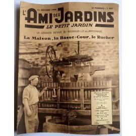 Revue L'Ami des Jardins du 15 octobre 1946