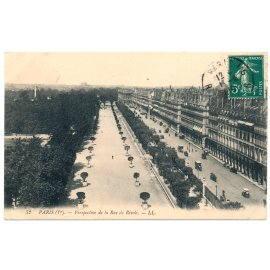 Paris - Perspective de la Rue de Rivoli