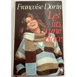 Les lits à une place - Françoise Dorin - France Loisirs, 1981