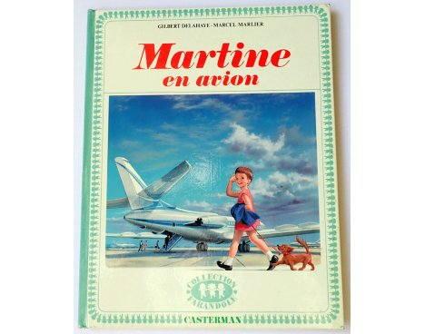 Casterman - Martine en avion