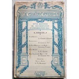 Revue La Chaîne d'Union - N° 2 Novembre 1938-1939