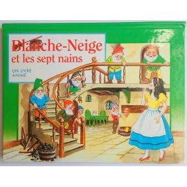 Blanche neige et les sept nains, un livre animé - Korrigan, 1998