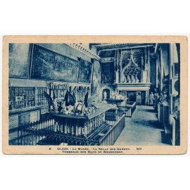 Dijon - Le Musée - La Salle des Gardes - Tombeaux des Ducs de Bourgogne