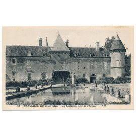 Bazoches-du-Morvan - Le Château, côté de l'Entrée