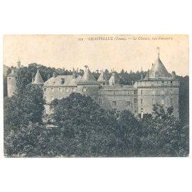 Chastellux - (Yonne) Le Château, vue d'ensemble