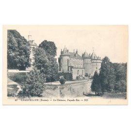 Château de Chastellux - (Yonne) Façade Est