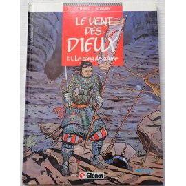 Le vent des Dieux, tome 1, Le sang de la lune - Cothias et Adamov - Glénat, 1985