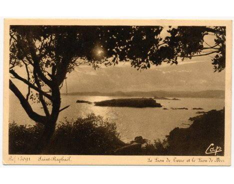 Saint-Raphaël - Le Lion de Terre et le Lion de Mer