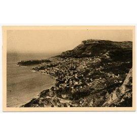 La douce France - Côte d'Azur - Monaco, Monte-Carlo, vus de la Grande Corniche