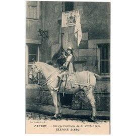 Nevers, Cortège Historique du 31 Octobre 1909 - Jeanne-d'Arc