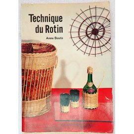 Technique du Rotin - A. Bauta - Dessain et Tolra, 1970