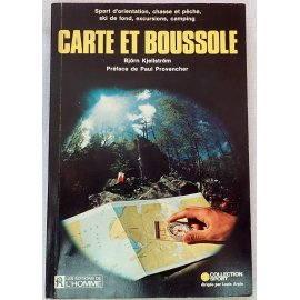 Carte et Boussole - B. Kjellström - Les Éditions de l'Homme, 1978